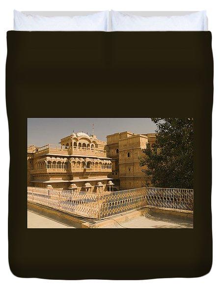 Skn 1231 Kingly Jharokhas Duvet Cover