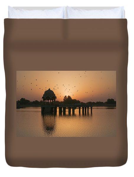 Skn 1372 Sunrise Flight Duvet Cover