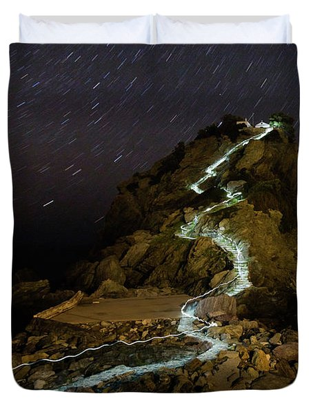 Skopelos Duvet Cover by Evgeni Dinev