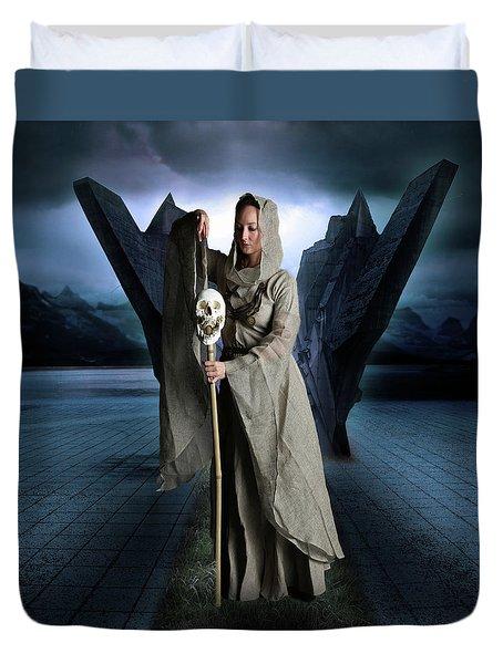 Skull And Bones Duvet Cover