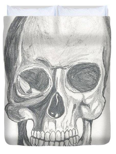 Skull Study 2 Duvet Cover