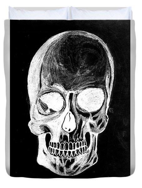 Skull Study 3 Duvet Cover