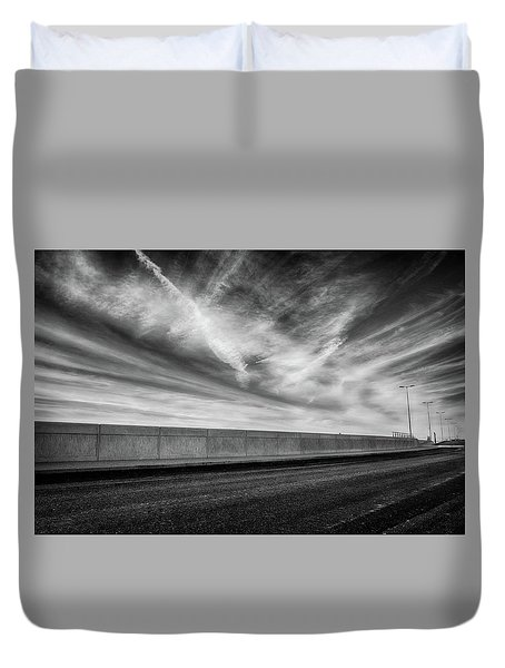 Sky Above Duvet Cover