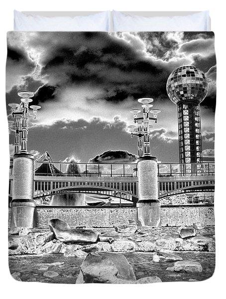 Sky Dome - Se1 Duvet Cover