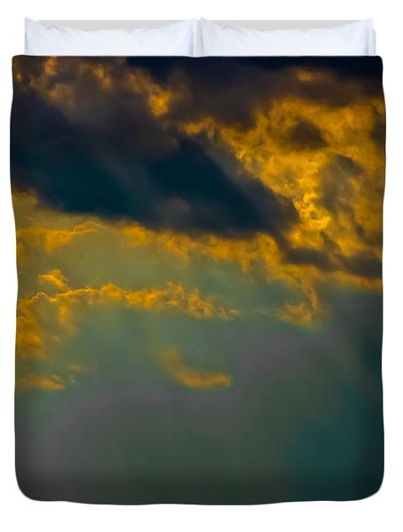 Sky Effects Duvet Cover by DigiArt Diaries by Vicky B Fuller