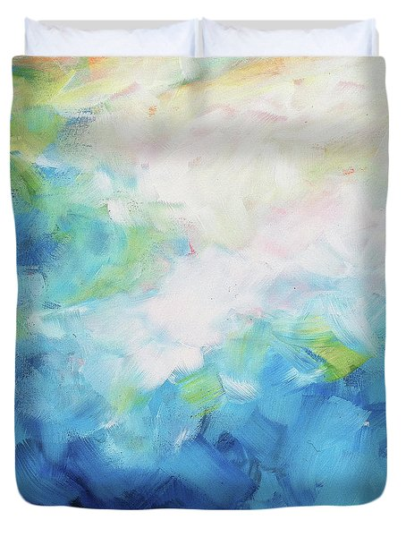 Sky Fall Duvet Cover