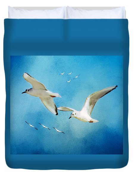 Sky High Flight Duvet Cover
