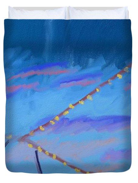 Sky Lights Duvet Cover