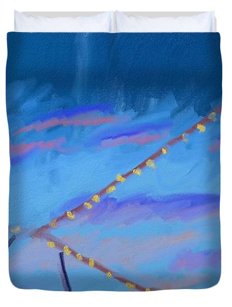 Sky Lights Duvet Cover