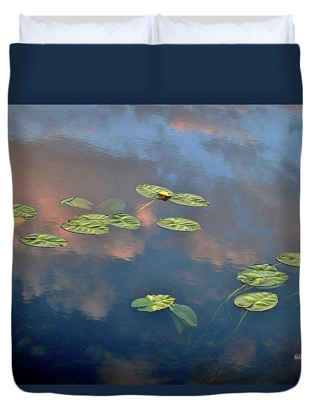 Sky Meets Water Duvet Cover