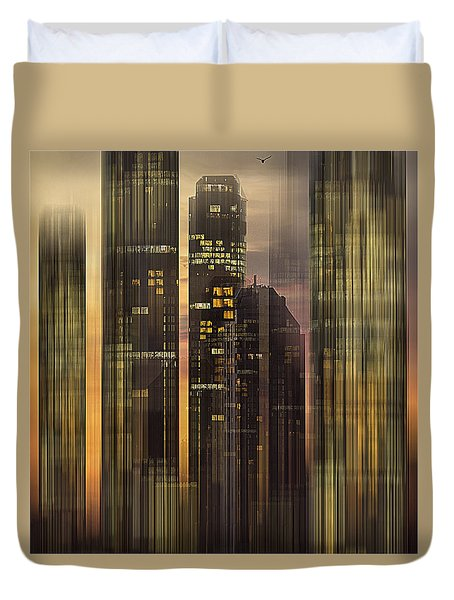 Sky Scrapers Duvet Cover