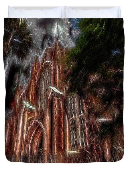 Sky Spirits 2 Duvet Cover by William Horden