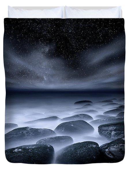Sky Spirits Duvet Cover by Jorge Maia