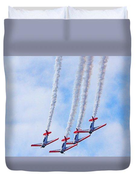 Sky Squadron Duvet Cover