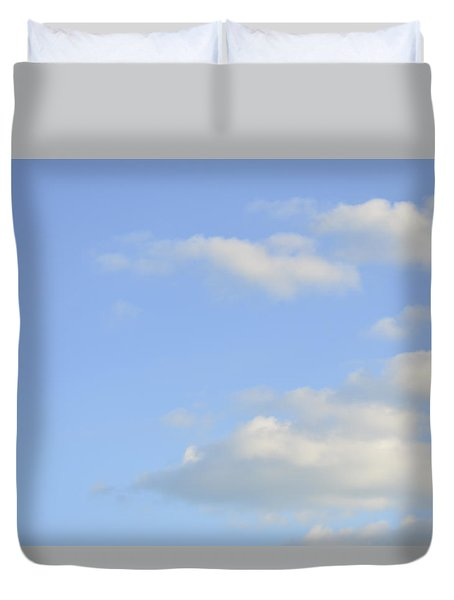 Duvet Cover featuring the photograph Sky by Wanda Krack