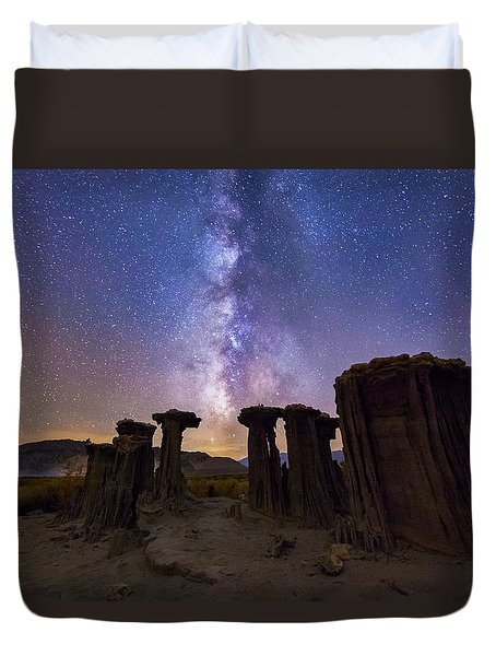 Sky Watchers Duvet Cover