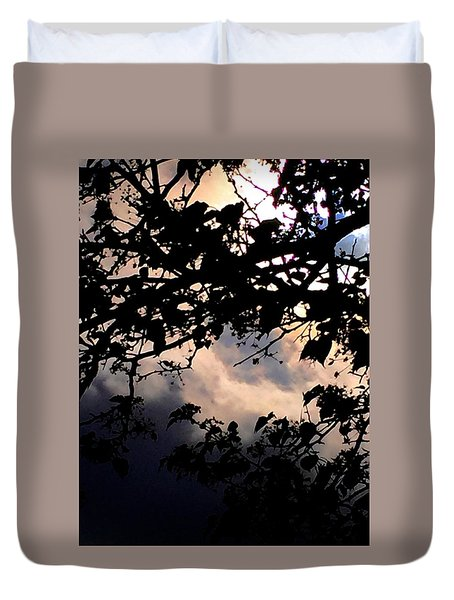Sky Works Duvet Cover