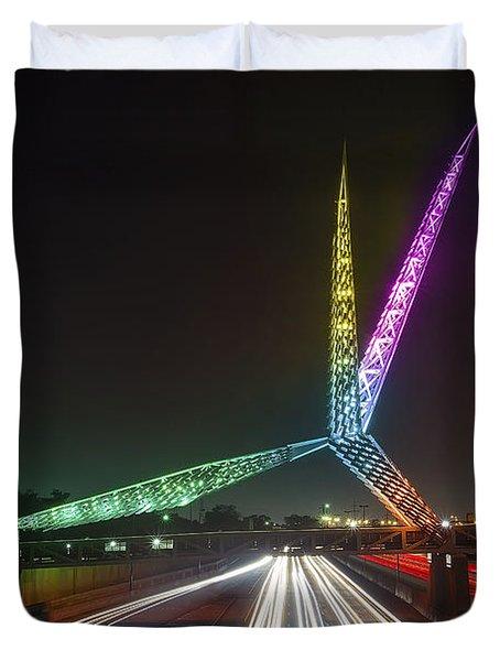 Skydance Bridge Okc Duvet Cover