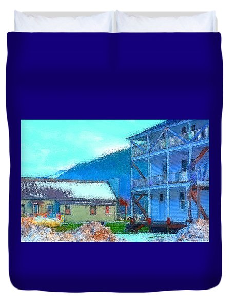 Skykomish  Duvet Cover by Tobeimean Peter