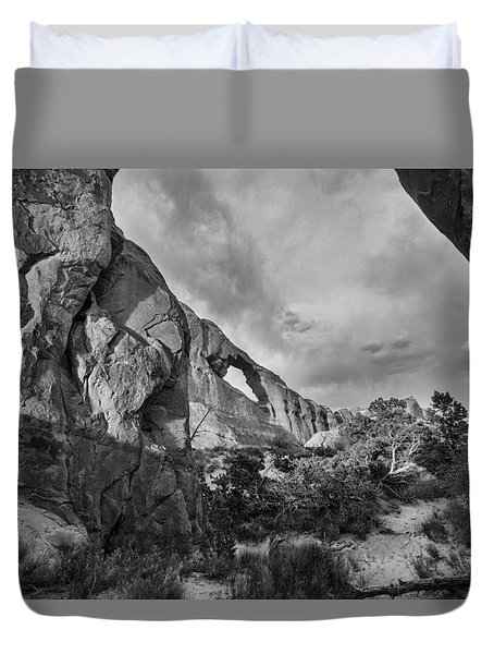 Skyline Arch Duvet Cover