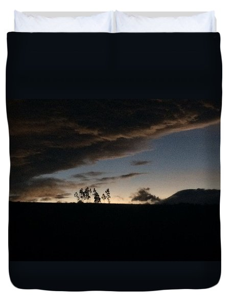 Skyline Duvet Cover by Eli Ortiz