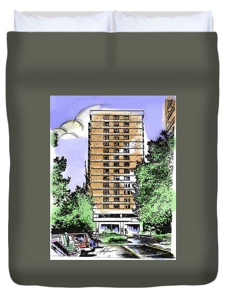 Skyline House Condo Duvet Cover
