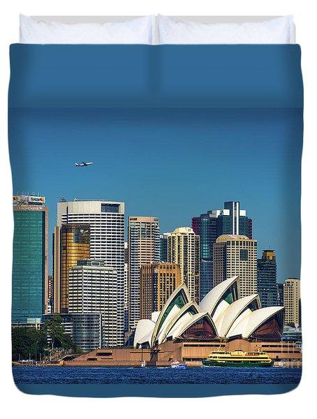 Skyline Oz Duvet Cover