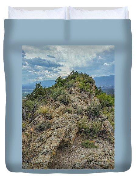 Skyline Ridge Duvet Cover