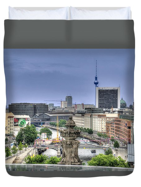 Skyline Duvet Cover