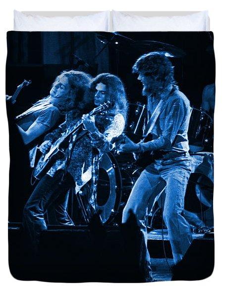 Blues In Spokane Duvet Cover
