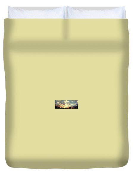 Skyscape Duvet Cover