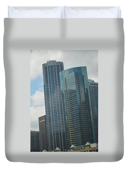 Skyscrapers Duvet Cover
