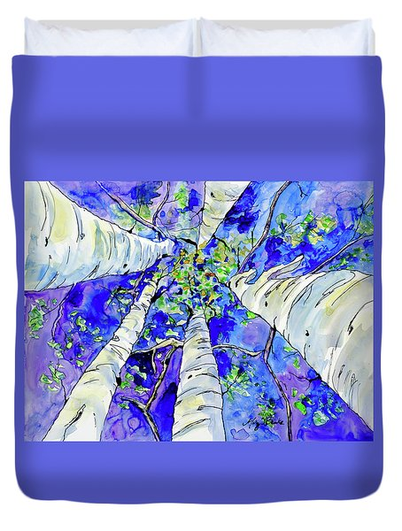 Skyward Duvet Cover