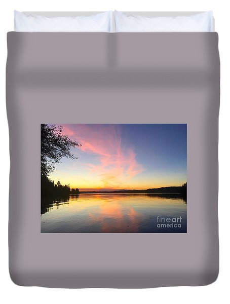 Slack Tide Duvet Cover by Sean Griffin