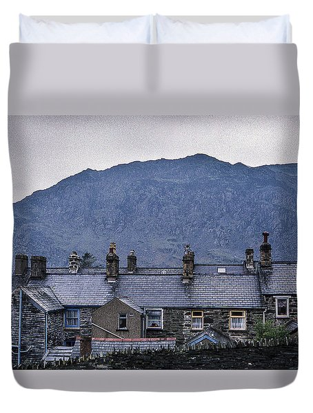 Slate Grey Wales Duvet Cover