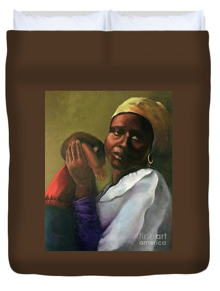 Slaughter Of The Innocents Duvet Cover by Marlene Book