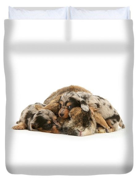 Sleep In Camouflage Duvet Cover