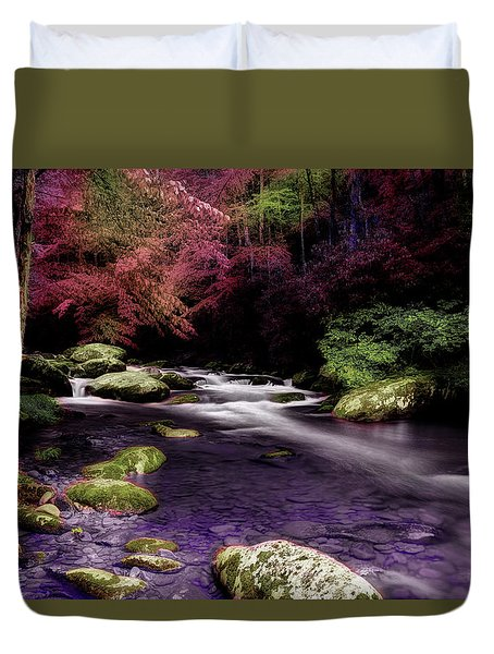 Sleep Walking Duvet Cover by Mike Eingle