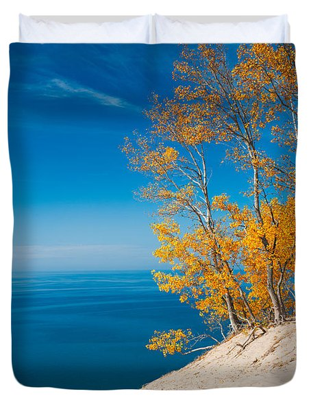 Sleeping Bear Dunes Vista 002 Duvet Cover