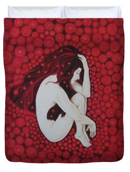 Sleeping Beauty Duvet Cover by Jindra Noewi
