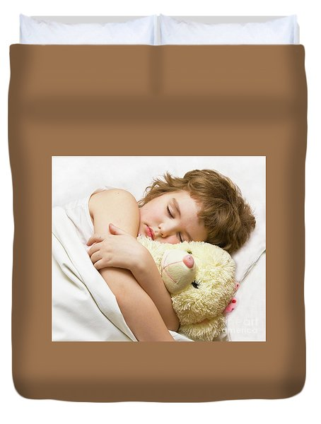 Sleeping Boy Duvet Cover