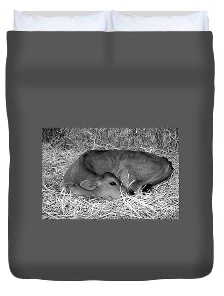 Sleeping Calf Duvet Cover