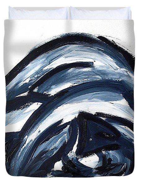 Sleeping Dog Duvet Cover by Lidija Ivanek - SiLa