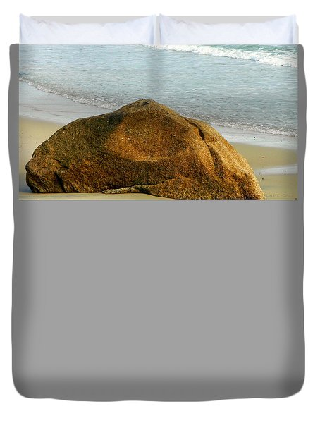 Sleeping Giant At Marthas Vineyard Duvet Cover