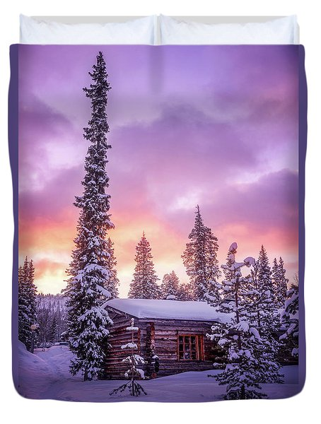 Sleeping Giant Duvet Cover