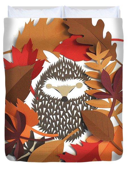 Sleeping Hedgehog Duvet Cover