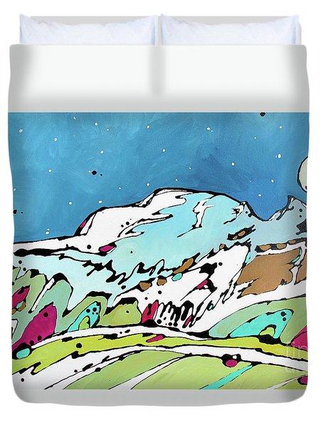 Sleeping In Duvet Cover
