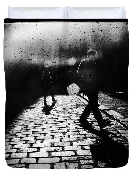 Sleepwalking Duvet Cover by Andrew Paranavitana