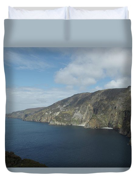 Sliabh Liag Duvet Cover by Greg Graham