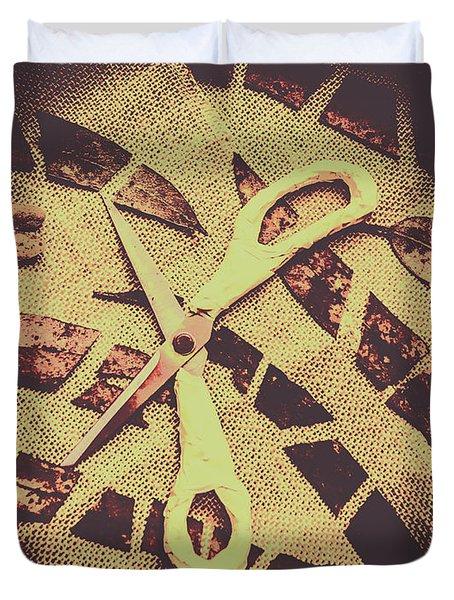 Slices Of Autumn Duvet Cover